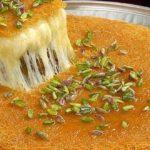 طريقة عمل الكنافة التركي بالجبنة