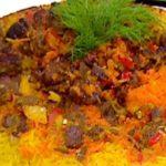 طريقة عمل أرز بالجزر
