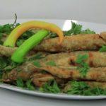 طريقة عمل سمك مكرونة مقلي