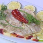 طريقة عمل سمك فيليه مع بطاطس بيوريه