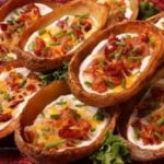 طريقة عمل قوارب البطاطس