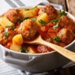 طريقة تحضير إيدام البطاطس مع كرات اللحم