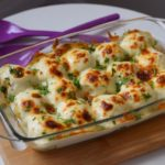 طريقة اعداد صينية كرات البطاطس بالدجاج وصلصة البشاميل