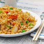 طريقة تحضير الأرز الصيني المقلي بالخضار