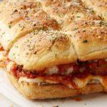 طريقة اعداد ساندويش بيتزا الدجاج للمدرسة