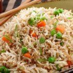 طريقة اعداد أرز صيني بالخضار والدجاج