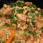 طريقة اعداد أرز صيني بالدجاج صحي للرجيم