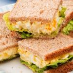 طريقة اعداد ساندويش تونا بالذرة للمدارس