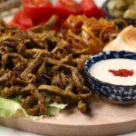 طريقة اعداد شاورما اللحم على الطريقة التركية