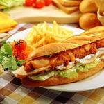 طريقة اعداد ساندويش الزنجر