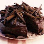 طريقة تورتة الشوكولاته بموس الشوكولاته وجناش الشوكولاته