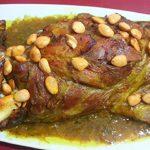طريقة طبخ كتف خروف بالفرن على الطريقة الإيرانية